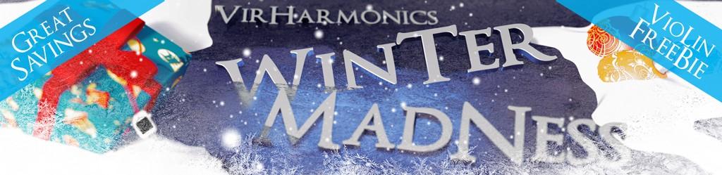 Virharmonic Winter Madness sale + Free Violin for UVI