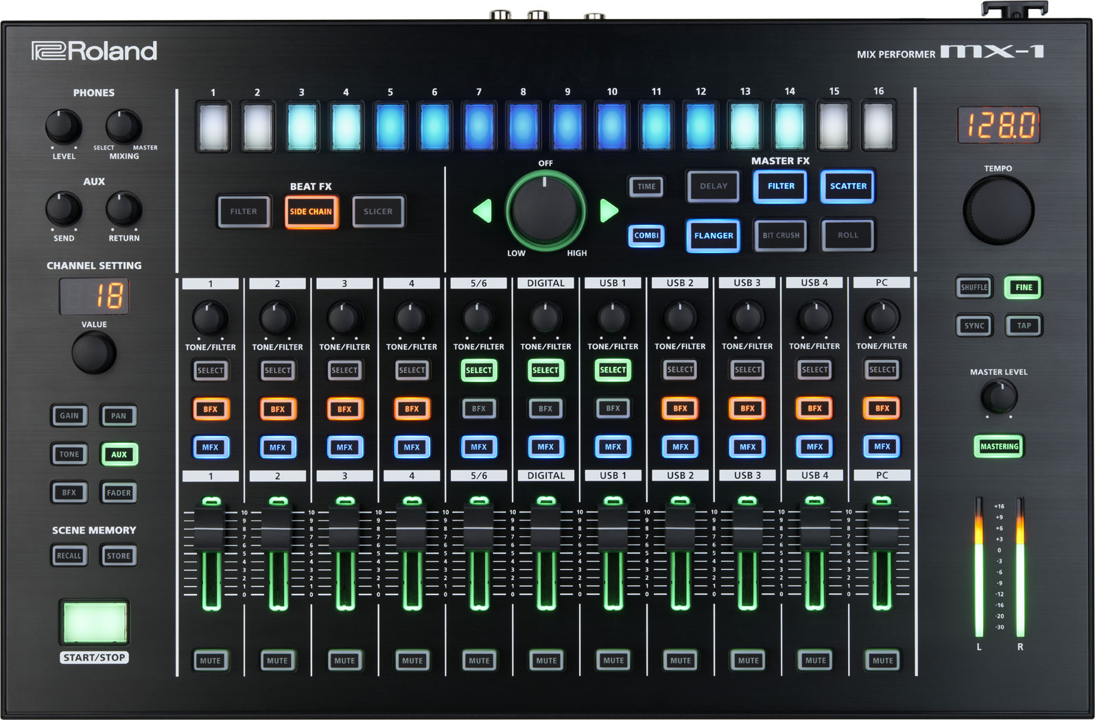 Roland Mx 1 Mix Performer Introduced At Namm 2015
