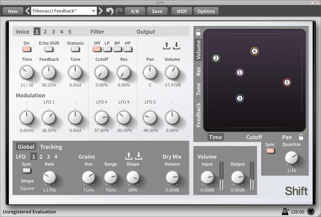 Shift pitch shifter & delay plugin updated to v2 3 1