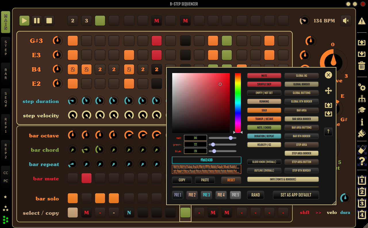 b step sequencer by monoplugs updated to v2 1. Black Bedroom Furniture Sets. Home Design Ideas