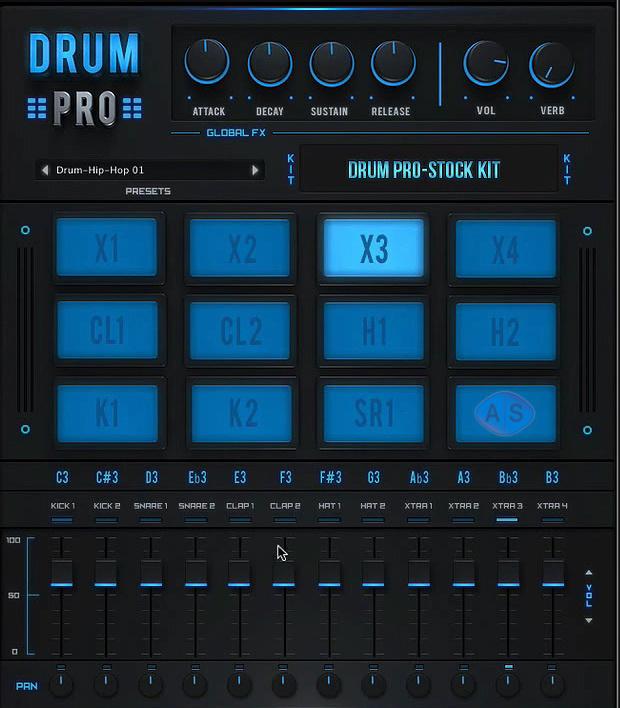 studiolinkedvst drum pro drum machine plugin released. Black Bedroom Furniture Sets. Home Design Ideas
