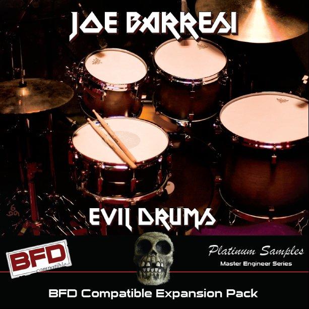 Platinum Samples announces Joe Barresi Evil Drums BFD