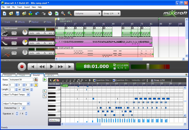 acoustica mixcraft 4.5 free download