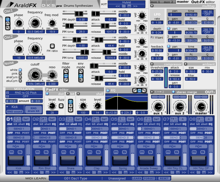 AraldFX DKS Pro VSTi 1.7