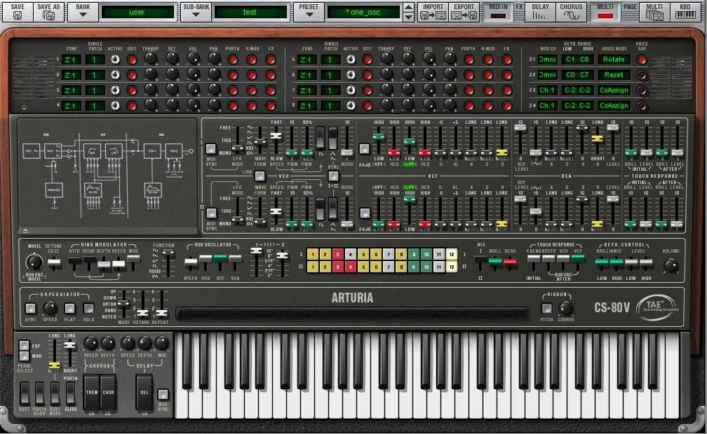 Yamaha Cs Online Demo