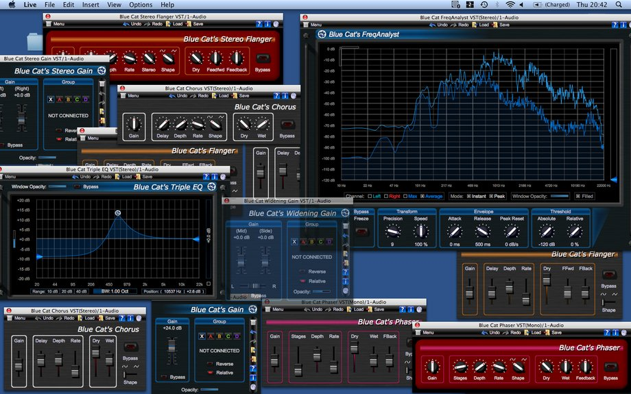 Blue Cat Audio free plugins bundle for Mac (AU) updated to