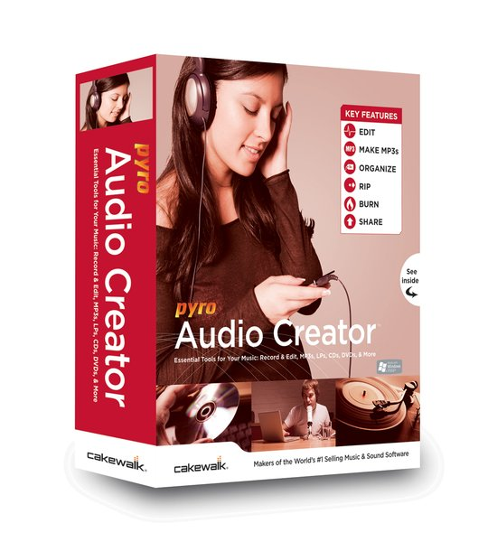 ������ Cakewalk Pyro AudioCreator v1.5.2-AiR
