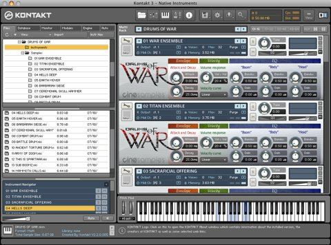 CineSamples Drums Of War MULTIFORMAT-AudioP2P