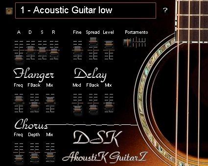 dsk akoustik guitarz a freeware acoustic guitar vst instrument for windows pc. Black Bedroom Furniture Sets. Home Design Ideas