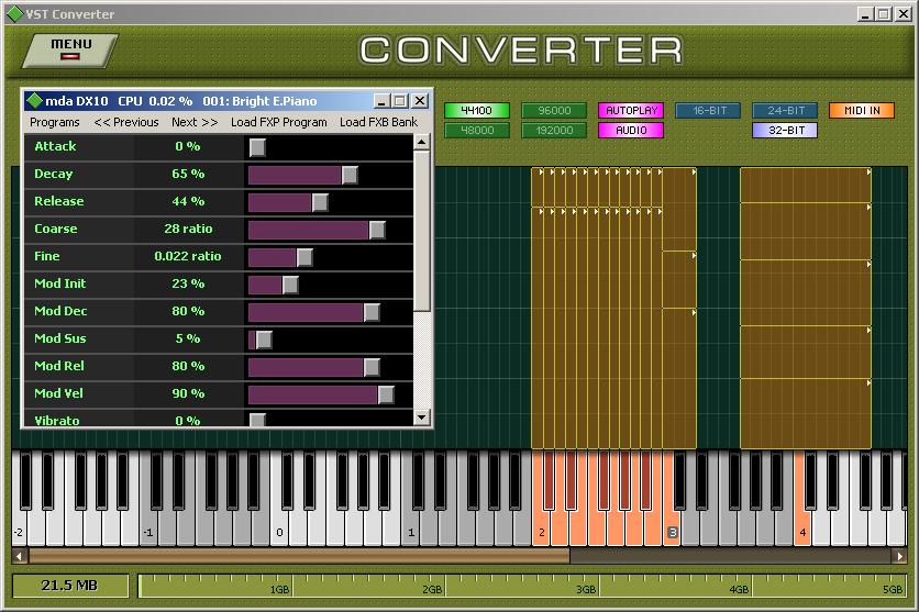 Wlodzimierz Grabowski Extreme Sample Converter updated to v3.5.6 ...