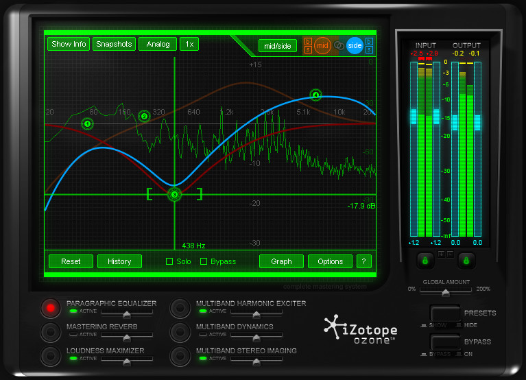 Izotope Ozone 4 A Complete Mastering System In A Single