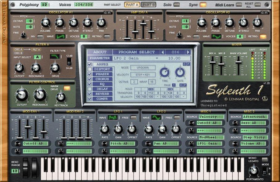 sylenth plugin