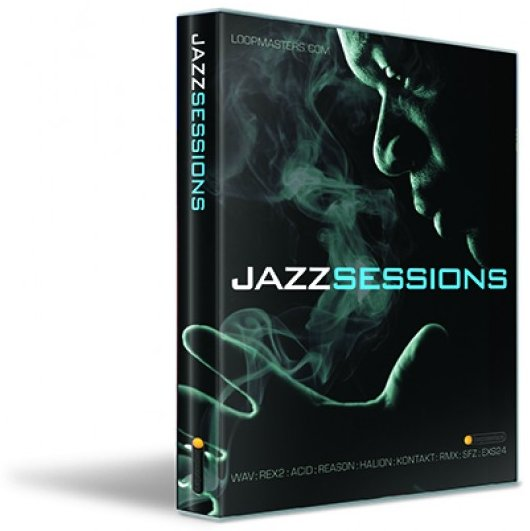 is now shipping Loopmasters Jazz Sessions , a 3GB library of jazz .