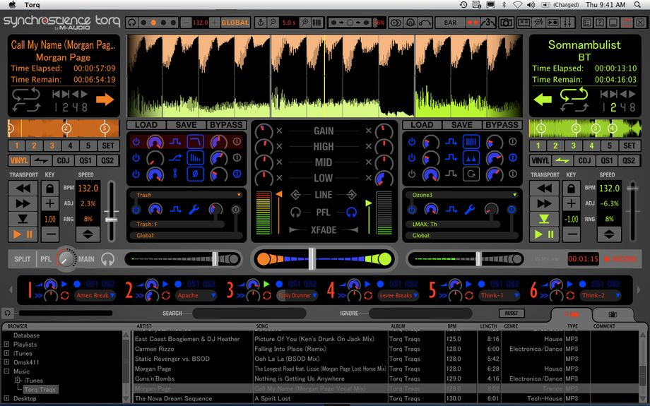 M-Audio Torq updated to v1 5, various improvements to the DJ software