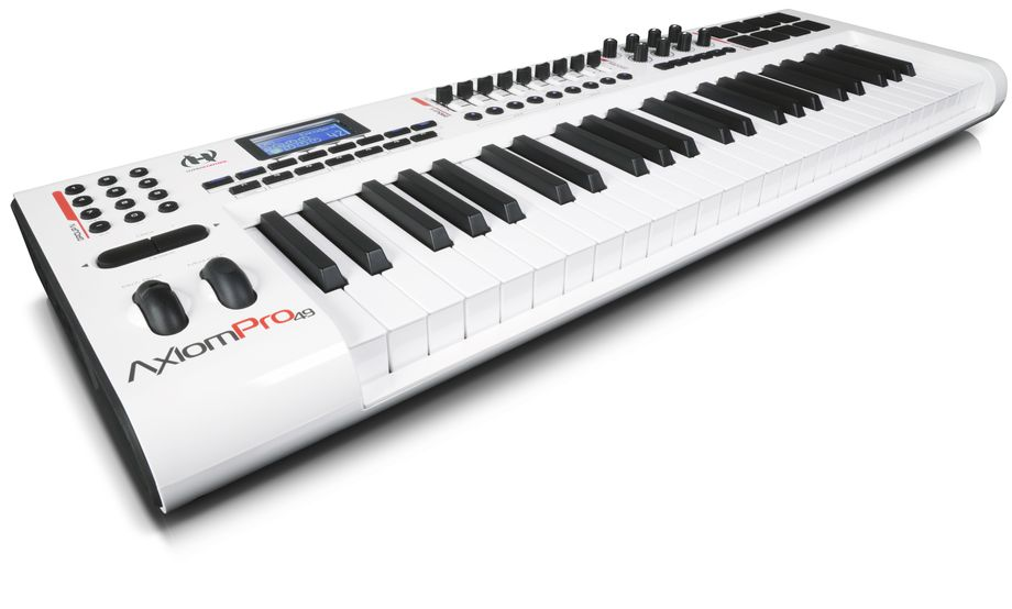 m audio axiom pro a series of advanced usb midi controllers with hypercontrol technology