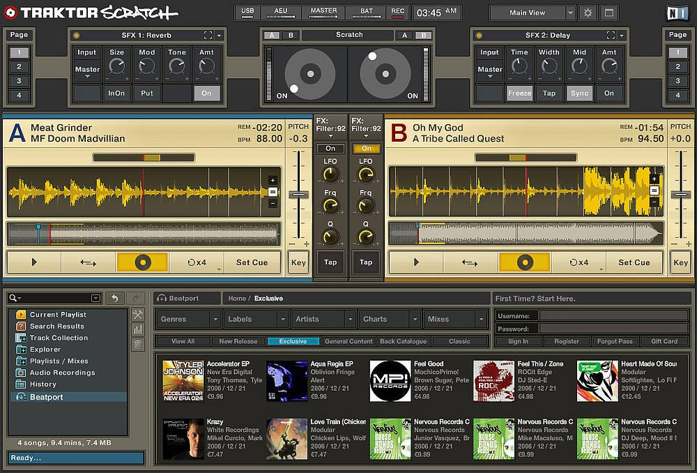 Traktor Scratch By Native Instruments Updated To V1 2