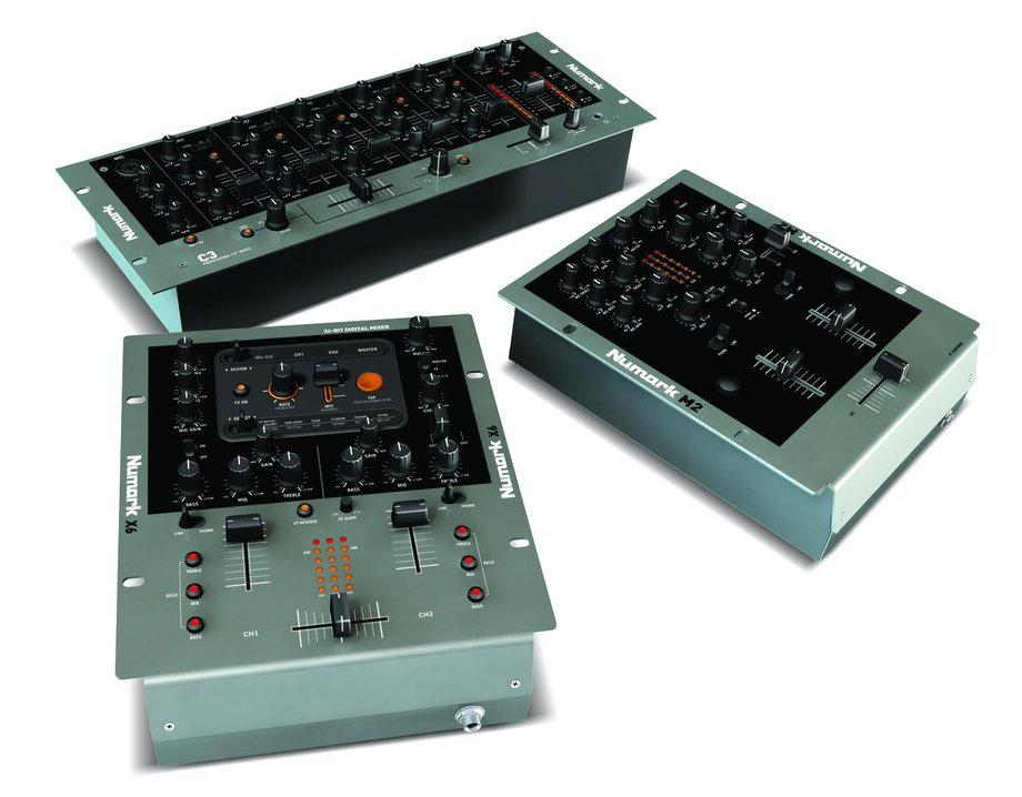 numark announces three new lines of dj mixers available in 10 inch tabletop compact tabletop. Black Bedroom Furniture Sets. Home Design Ideas