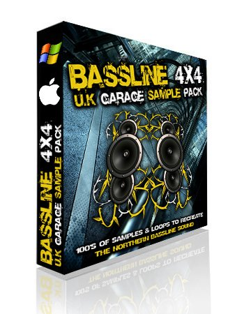 producer pack bassline 4x4 uk garage sample pack a new