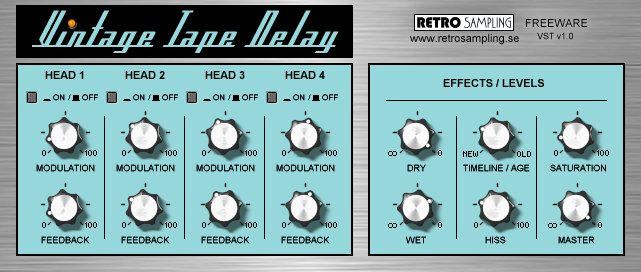 Delay Tape Tape Delay Vst V1.0