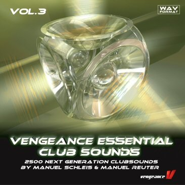 Vengeance Essential Clubsounds Vol  3, a sample CD with over