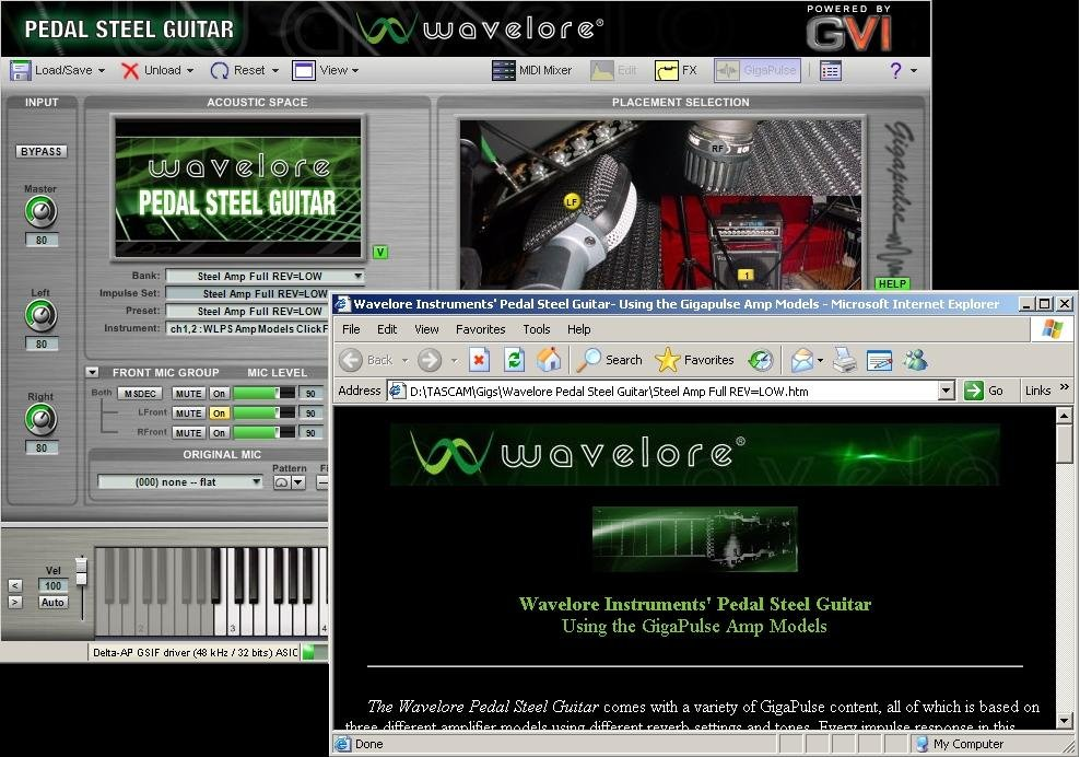 Wavelore Instruments Pedal Steel Guitar Updated To V11 American