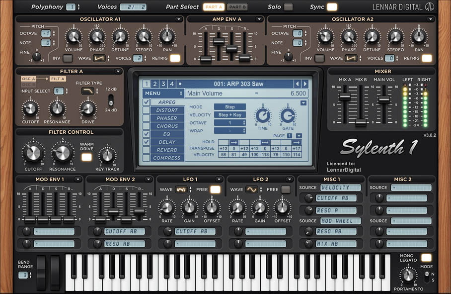 Free patches and sound banks for LennarDigital Sylenth1