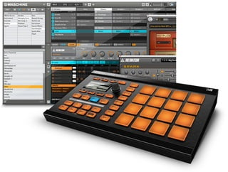 native instruments maschine mikro groove production system announced. Black Bedroom Furniture Sets. Home Design Ideas