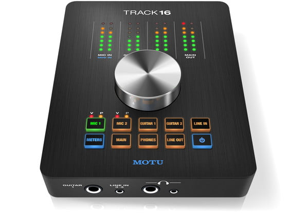 Motu track16 desktop audio interface with effects and mixing for Future garage sample pack