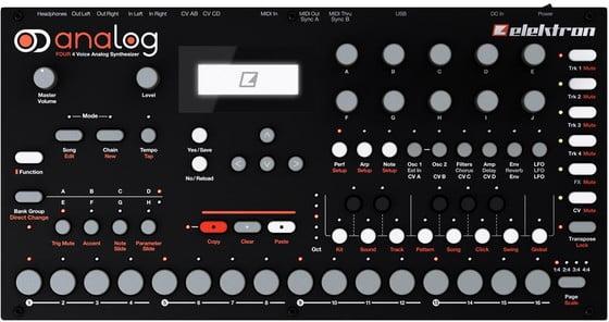 elektron analog four analog synthesizer announced. Black Bedroom Furniture Sets. Home Design Ideas