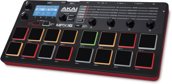 Akai Pro MPX16 sample recorder & player introduced
