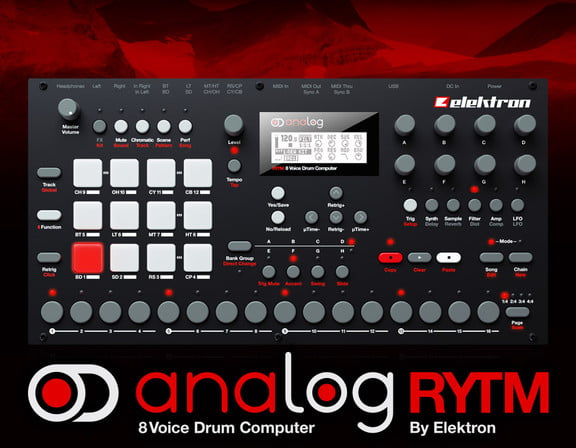 elektron analog rytm sound demos and full specifications introduced. Black Bedroom Furniture Sets. Home Design Ideas