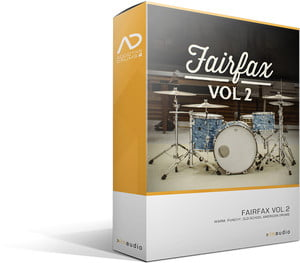 Fairfax Vol  2 for Addictive Drums 2 released