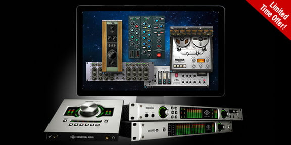 get up to 1 295 in free uad plug ins with apollo. Black Bedroom Furniture Sets. Home Design Ideas