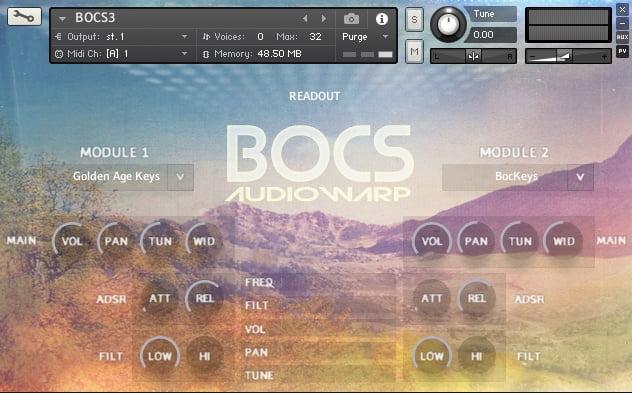 AudioWarp BOCS Vol 3