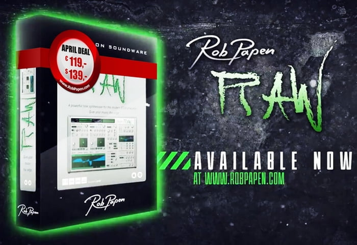 rob papen RAW deal