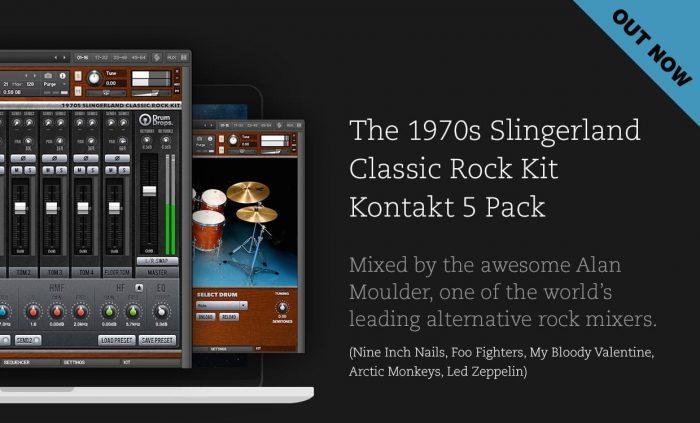 Drumdrops 1970s Slingerland Classic Rock Kit