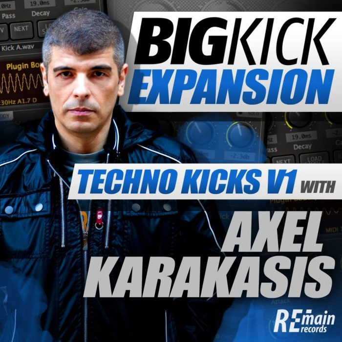 PIB BigKick Expansion Techno Kicks with Alex Karakasis
