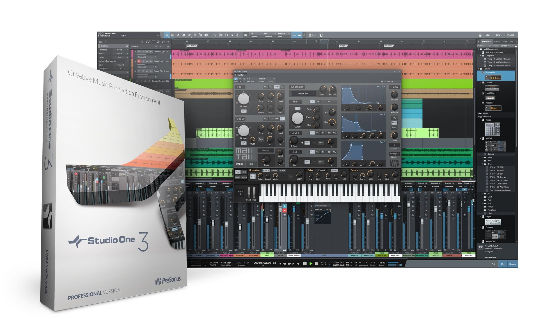 presonus studio one 3 music production software released. Black Bedroom Furniture Sets. Home Design Ideas