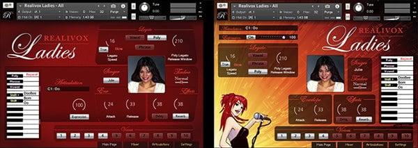 Realivox Ladies for Kontakt updated to v2 1