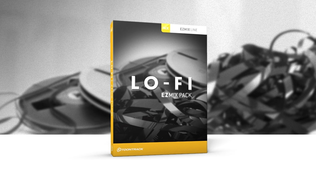 Lo fi ezmix pack released by toontrack for Future garage sample pack