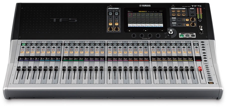 yamaha tf series digital mixing consoles now shipping