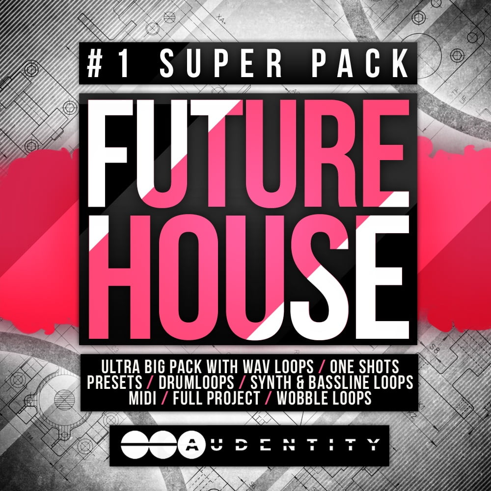 Audentity future house 1 super pack released for Future garage sample pack