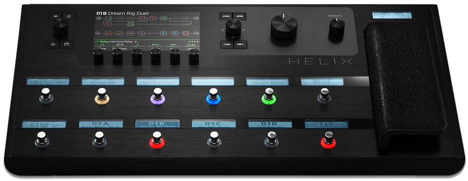 helix guitar processor introduced by line 6. Black Bedroom Furniture Sets. Home Design Ideas