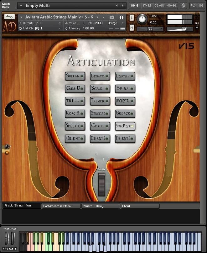 Aviram Arabic Strings for Kontakt updated to v1 5