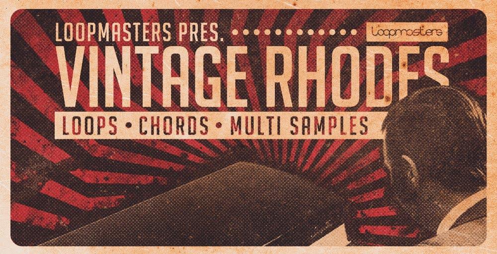 Vintage Rhodes sample pack at Loopmasters