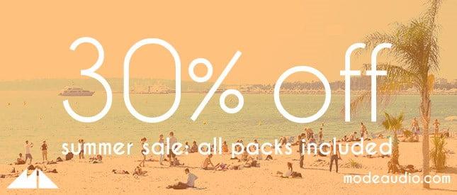 ModeAudio Summer Sale