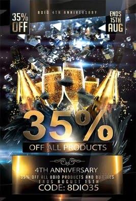 8Dio 4th Anniversary Sale