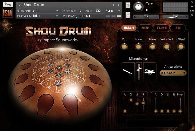 Impact Soundworks Shou Drum