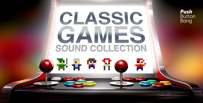 Push Button Bang Classic Games Sound Collection released