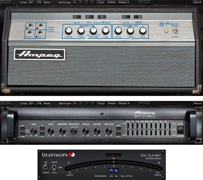 UAD Ampeg SVT Bass Amplifier Plug-In Bundle